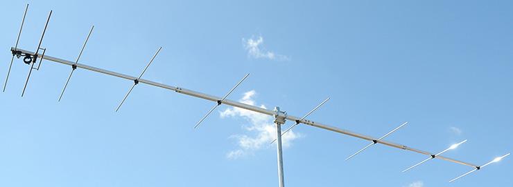 2 meter portable 144 MHz antenna 9 elements