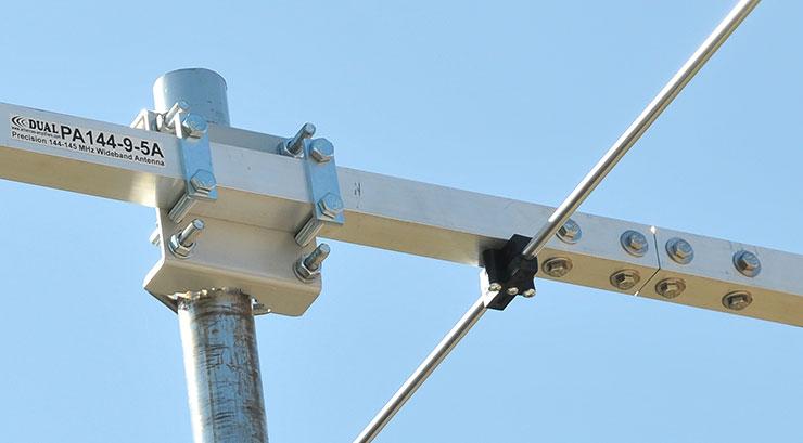 1444 MHz Yagi Antenna Bracket View Boom Join View