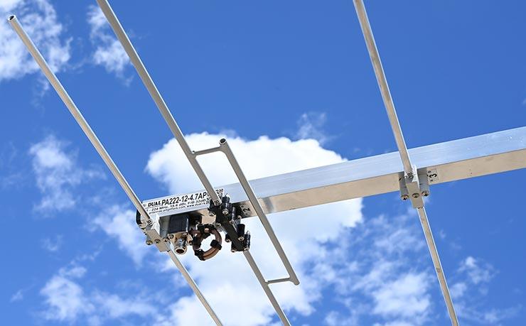 1.25m Band 222-224 MHz Yagi Antenna Copper Dipole Strong Construction