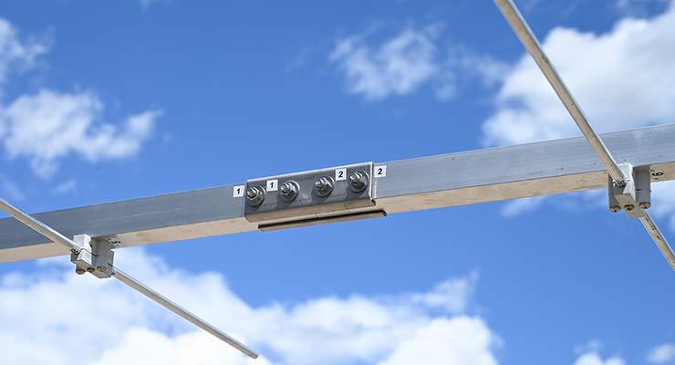 ARRL 222MHz 1.25m Band 12 Element Yagi Antenna PA222-12-4.7AP Boom Join