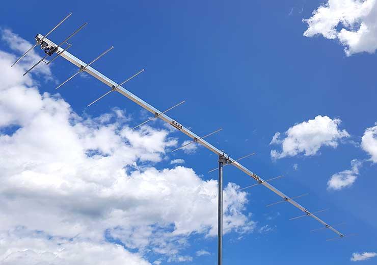 1.25m Band Plan Yagi ARRL 222MHz 1.25m 12 Element Yagi Antenna PA222-12-4.7AP