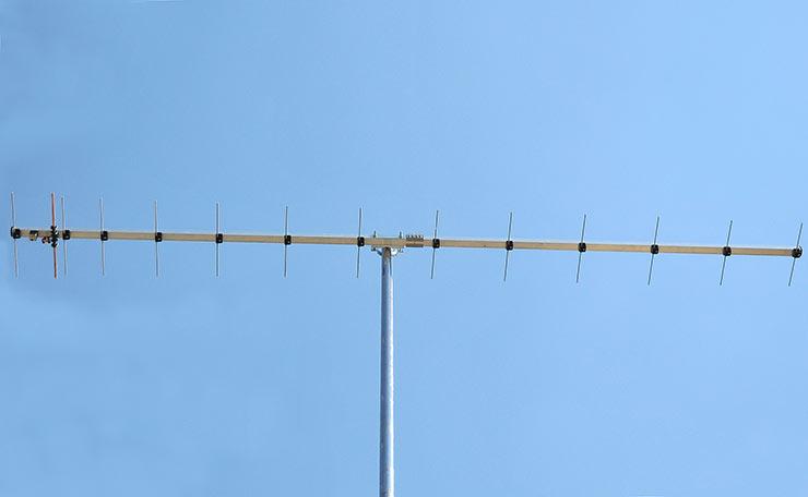 70cm Excellent Gain Low Noise Yagi PA432-14-3B Portable