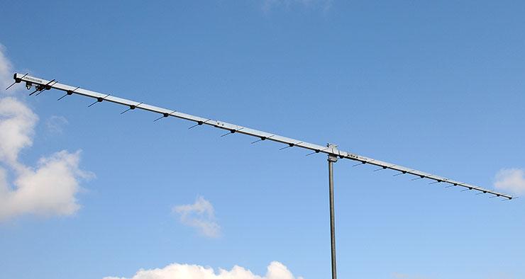 70cm Low Noise Super Yagi EME Q65 Contest Antenna PA432-23-6B Ultimate G/T