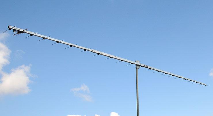 432.1 MHz JT65 Q65 EME and Contest Yagi Antenna Low Noise Design PA432-23-6B