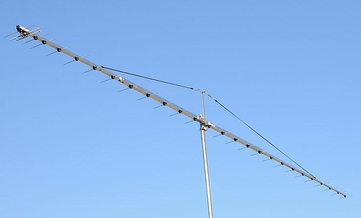 432.1 MHz 70cm EME Contest Long Boom Yagi Antenna Low Noise Design PA432-26-7BGP