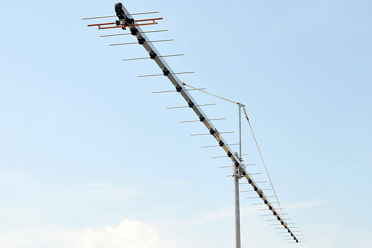 432.1MHz Extreme Gain and G/T +9dB Yagi Antenna Competition PA432-26-7BGP