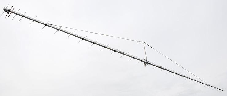 30 Elements ultimate G/T 70cm Super Yagi Q65 Antenna PA432-30-8BGP