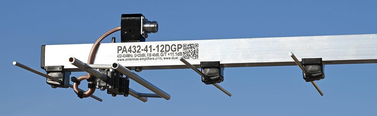 432MHz/41-Elements/PA432-41-12BGP_1200_Connector-PA432-41-12BGP-Baloon-Dipole-Elements.
