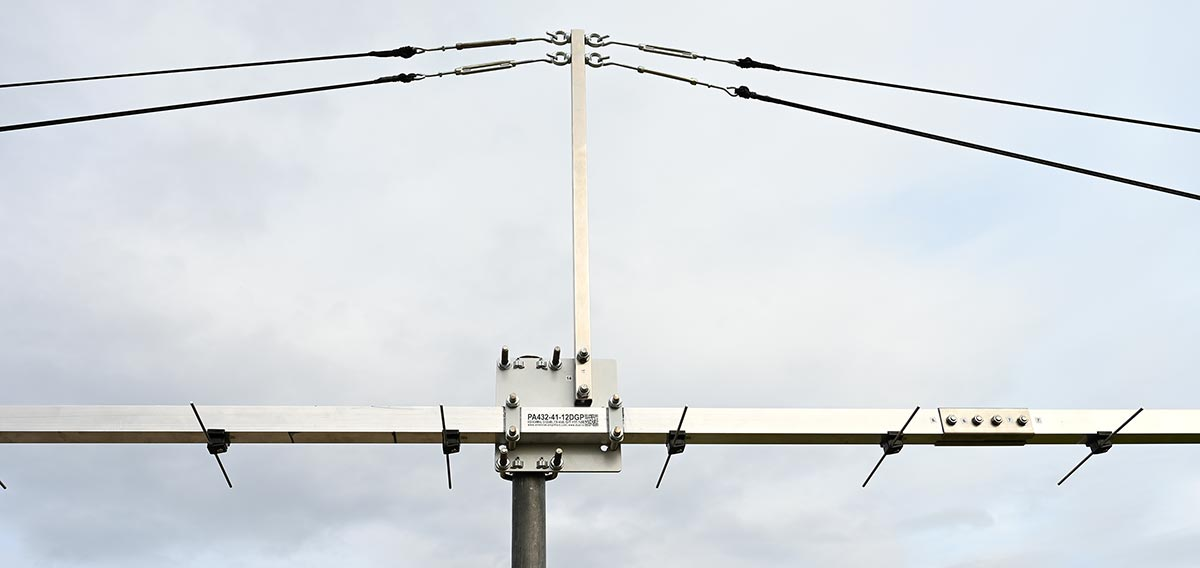 guy-rope-support-70cm-41Ele-12Meter-Yagi-Antenna