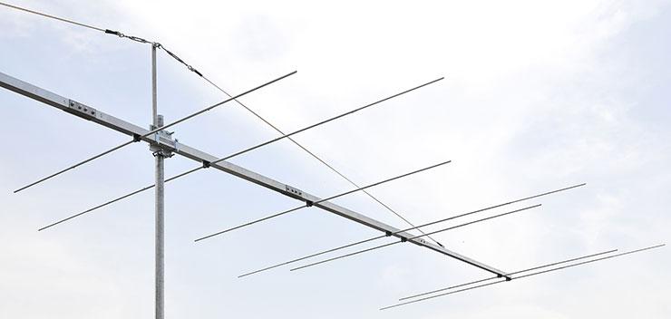 6m 4m Common Connector Yagi Antenna PA5070-13-7BG-D5-D6-D7-detail