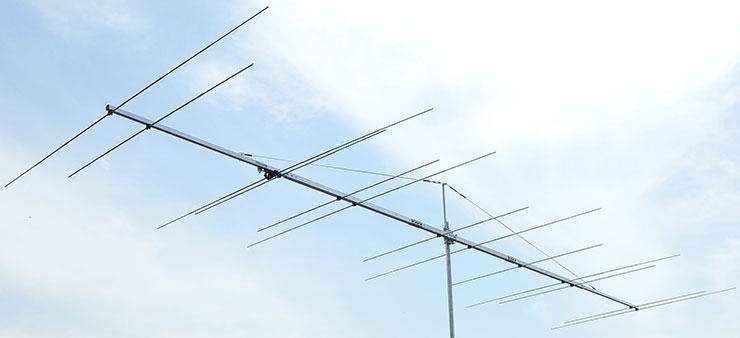DualBand Yagi Antenna Common Connector PA5070-13-7BG 50MHz 70MHz