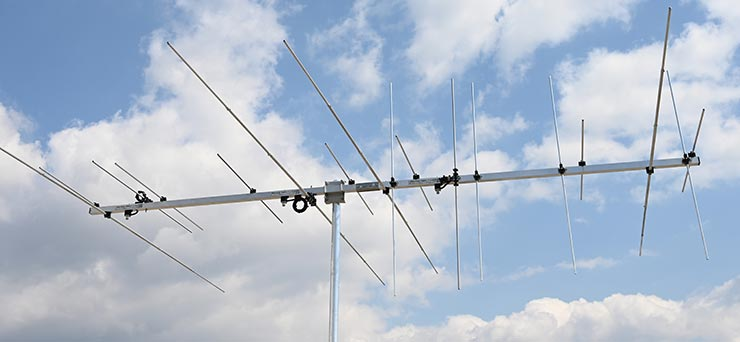 Ham Radio Antenna For 50MHz 144MHz Horizontal Vertical High Power Yagi PA50-144HV-17-3-3CB