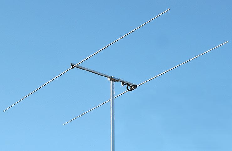 6m Stack Yagi Antenna 2 elements Widest Possible Angle PA50-2-1A