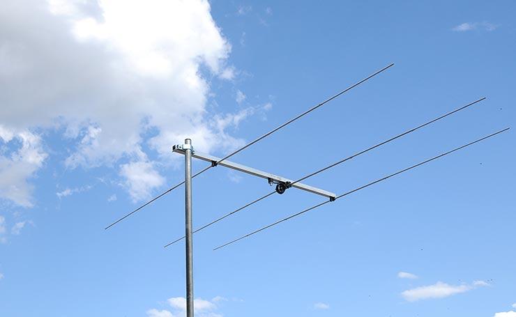 3elements 6meter Rear Mounted Yagi Antenna PA50-3-1.5RB