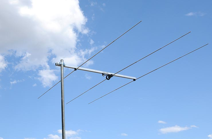 3el. 6m Rear Mount Yagi Antenna PA50-3-1.5RB Appearance