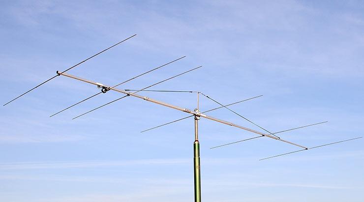 6meter Low Noise Magic Band Yagi Antenna 6el PA50-6-6BGP