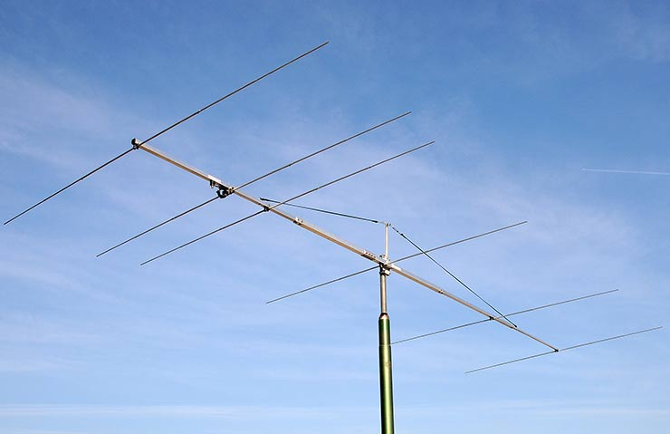 6m Boom Sturdy Construction Magic Band Yagi Antenna 6el PA50-6-6BG