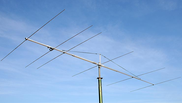50 - 50.5 MHz Low Noise Magic Band Super Yagi Antenna 6 elements PA50-6-6BG