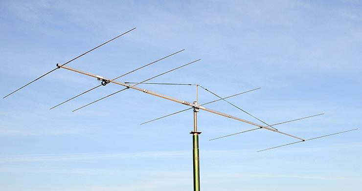 50 - 50.5 MHz 6el Low Noise Super Yagi Antenna PA50-6-6BGP for Magic Band
