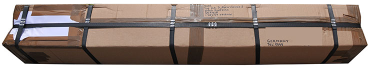 50MHz-Antenna-PA50-6-6A-Airplane-Parcel-Pack-Open-Complete