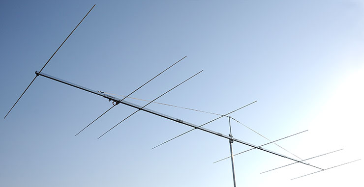 50MHz Super Yagi Antenna PA50-7-9BGP G3WOS