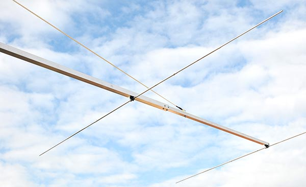 Long Boom Yagi Antenna PA50-7-9BGP Element Boom Join and Guy Rope Support Deatail