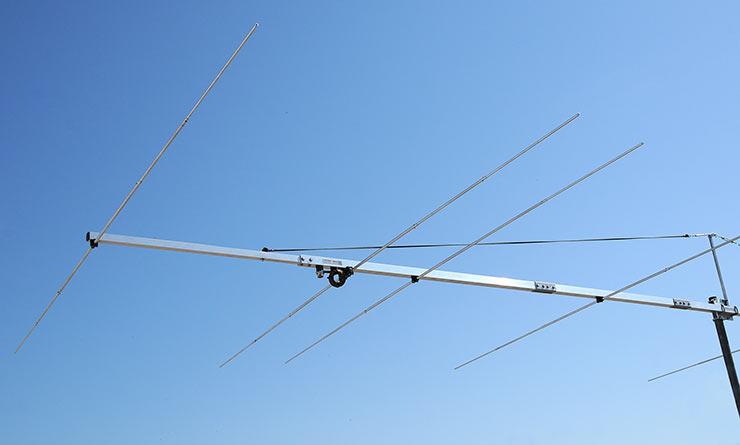 50 MHz Long Yagi Antenna Sturdy Construction BG50-7-9BGP and BG50-7-9BGEX