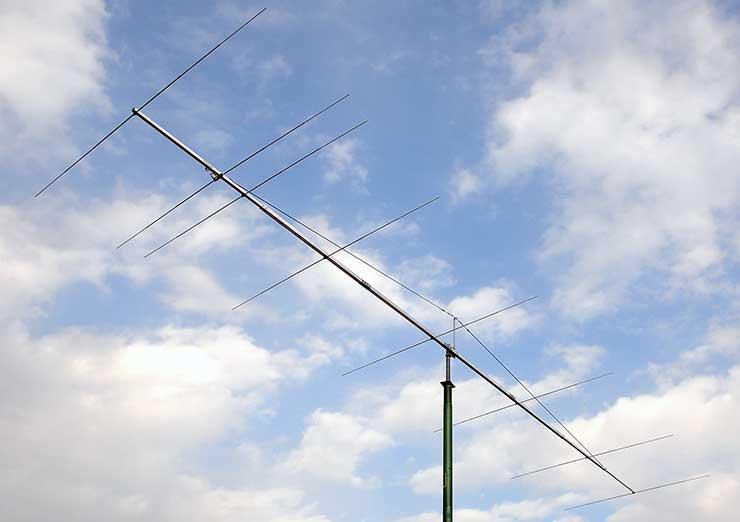 6m Competitions Super Yagi Antenna Low Noise Design PA50-8-10BGP Long Boom