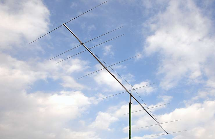 50-50.5MHz Extra Gain Super Yagi Antenna PA50-8-10BGP Low Side Lobes