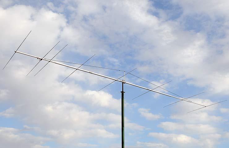 50-50.5MHz Super Yagi Antenna PA50-8-10BGP Low Noise design Tropo EME