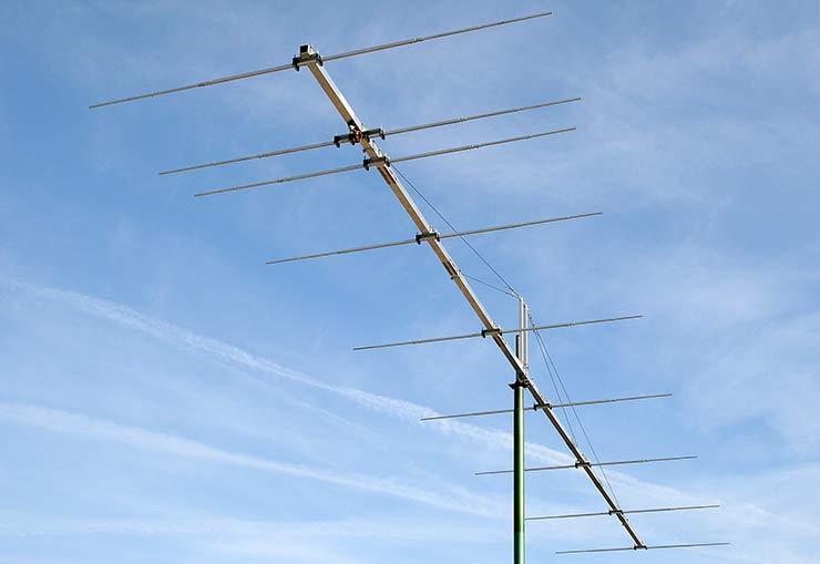 6m Super Gain Extreme Sturdy Yagi Antenna Element Wind Speed 350 km/h PA50-9-12BGEXSHD Galah Cockatoo
