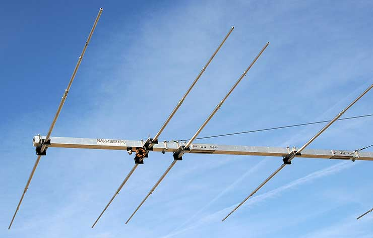 50MHz 6m Extreme Strong Super Yagi Antenna PA50-9-12BGEXSHD