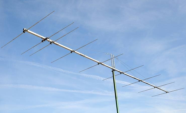 6m 50MHz Super Sturdy Construction Yagi Antenna PA50-9-12BGEXSHD Wind Speed 350kph