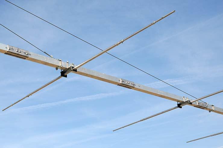 6m Extreme Gain Yagi Antenna PA50-9-12BGEXSHD Sturdy Construction Boom Detail