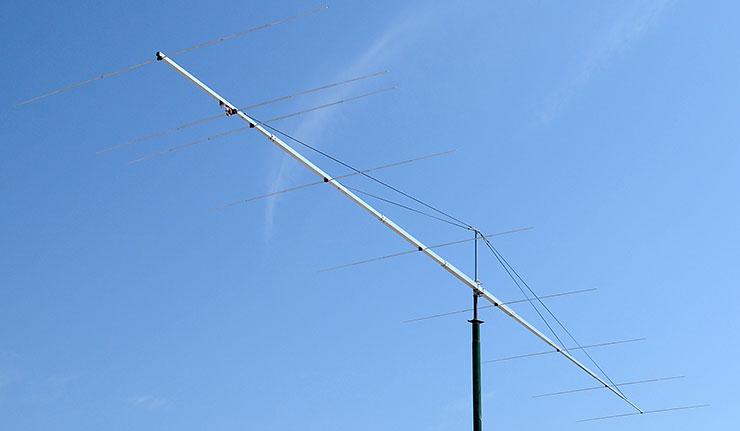 9elements 6m Super Yagi Antenna PA50-9-13DGP F/B 32dB Gain 14dBi