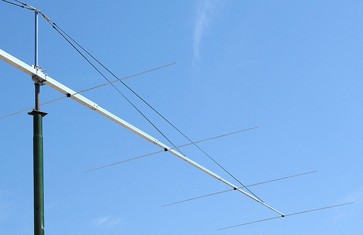 50-50.5MHz Long Boom Super Yagi Antenna PA50-9-13DGP Tapered Boom and Elements