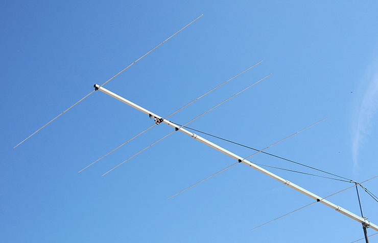 6meters Yagi Antenna PA50-9-13DGP High Power Balun 1500W Dipole Elements Details