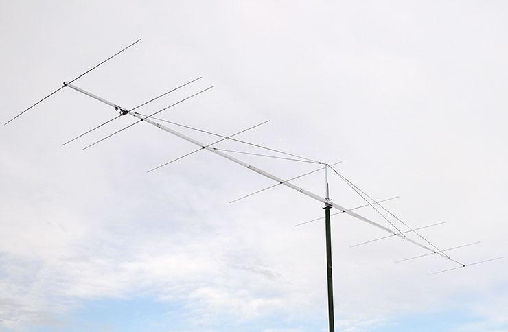 6m Extreme Gain Yagi Antenna PA50-9-13DGP on 12.6m Boom