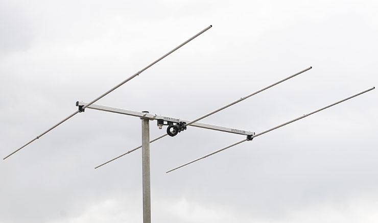 4m 70MHz 3el Yagi Antenna for Portable Use -PA70-3-1A
