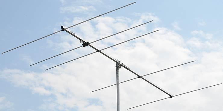 4meter 5-element yagi 70mhz antenna PA70-5-3