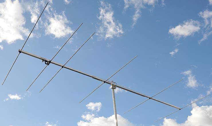 4 meter 6 element Yagi antenna-PA70-6-4