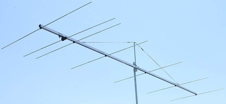 Low-noise 4m 70MHz-High-Gain-Antenna-PA70-7-6
