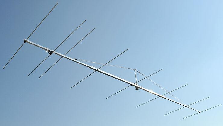 4m 70 MHz 8 element Yagi Antenna PA70-8-7BG