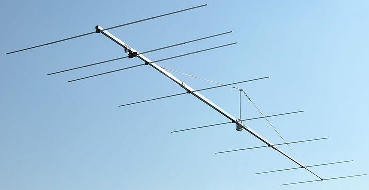 70MHz 8element Super Yagi Antenna PA70-8-7BG Low-Noise