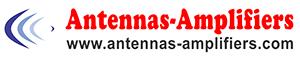 Antennas-amplifiers sign logo