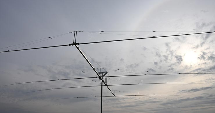 World-Best 7MHz Antenna four Elements