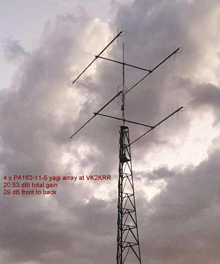 AIS Marine Tracking Yagi System PA162-11-5-VK2KRR