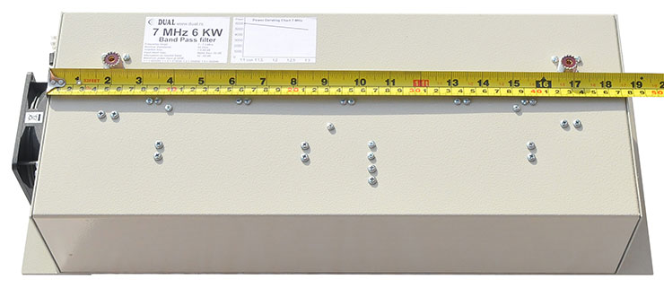 6kW-Band-Pass-Filter-7MHz-40m-High-Power-Dimension-made-by-Antennas-Amplifiers