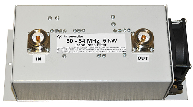 50-54-MHz-5kW-5000-W-Low-Loss-Bandpass-Filter-BPF-6-Meter-Band-Made-By-antennas-amplifiers.com