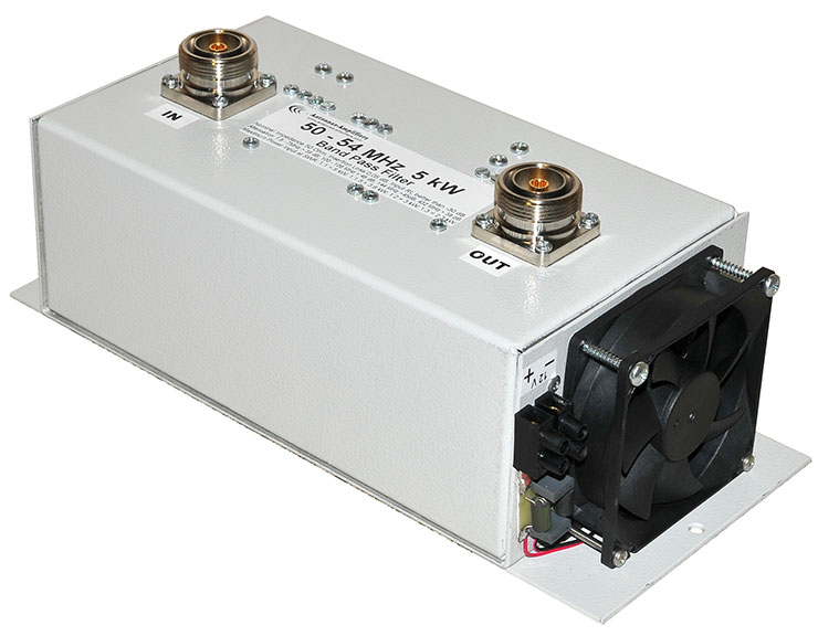 6m-5kW-Low-Loss-Bandpass-Filter-50MHz-54MHz-BPF-Made-By-Antennas-Amplifiers